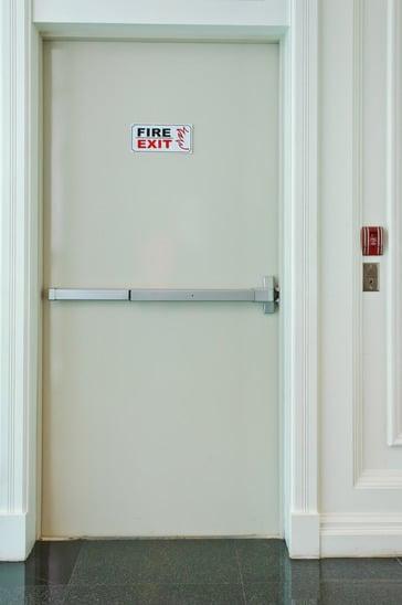 דלת אש | ידיות בהלה