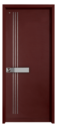 דלתות כניסה מעוצבות | דגם טריפל